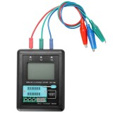 M328 Diode Triode Capacitor Resistor Transistor Tester ESR Meter Multi-Function Tester with Test Board