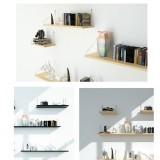 Wall-Mounted Wall Shelf Storage Display Rack Bookshelf Wall Home Decoration
