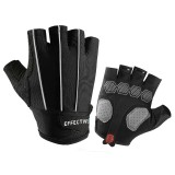 golovejoy Motorcycle Half Finger Gloves Sport Riding Reflective Protective Outdoor Anti-skid