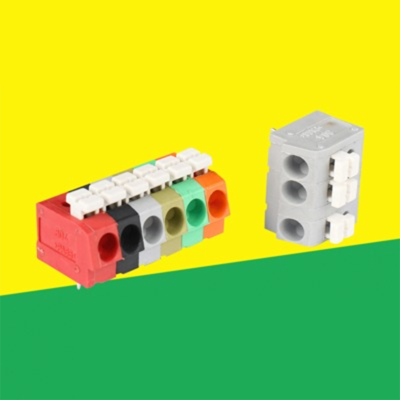 10PCS BEST 5 Pin Plug-in Brass Wire Connector Terminals LED Flame Retardant Terminal Block Connector