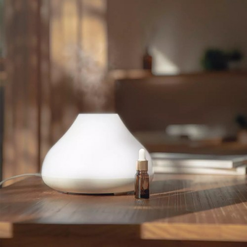 SOLOVE H7 USB Charging Aromatherapy Humidifier 500ML Air Humidifier Night Light Wireless Aromatherapy Machine Aromatherapy Diffuser From Xiaomi Youpin