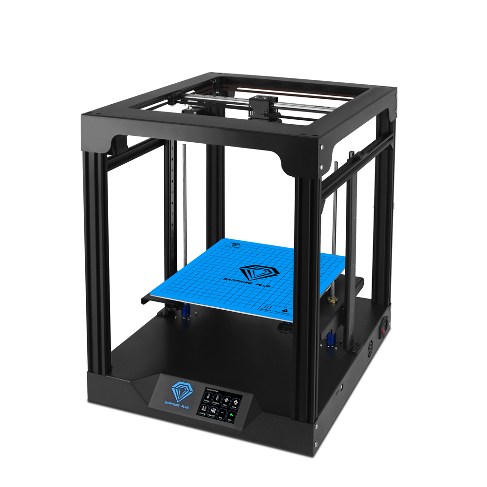 TWO TREES Sapphire Plus Core XY 300*300*350mm Printing Size 3D Printer With Full Metal Body/Double Linear Guide/BMG Extruder/Power Resume/Filament Detect/Auto Leveling DIY 3D Printer Kit