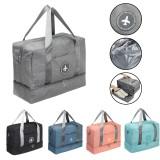 Dry Wet Separation Shoes Bag Yoga Bag Sports Swimming Gym Fitness Handbag Shoulder Bag