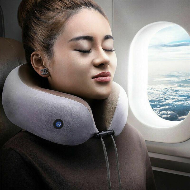 Multi-Function Electric Massage U-Shaped Pillow Shoulder Neck Support Cervical Massager