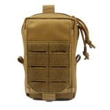 ZANLURE 7inch 1000D Nylon Tactical Bag Crossbody Bag Waist Bag