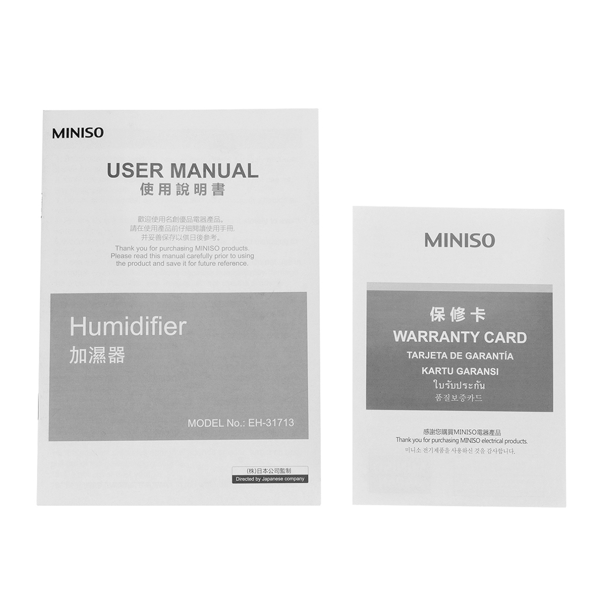MINISO 1.5L Ultrasonic Air Humidifier Aroma Essential Oil Diffuser For Home Mist Maker