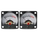 TR-35 VU Meter Head Power Amplifier DB Meter Sound Pressure Meter Audio Level Meter with Backlight GQ999