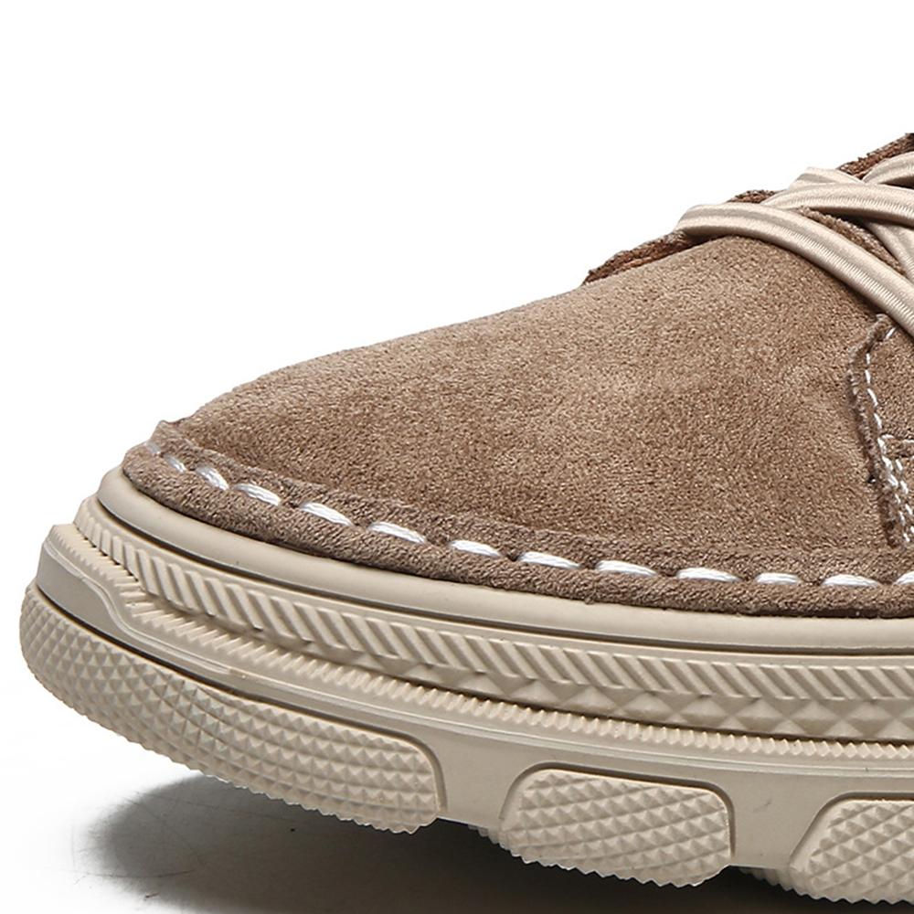 Men Suede Slip Resistant Casual Soft Outdoor Walking Loafers