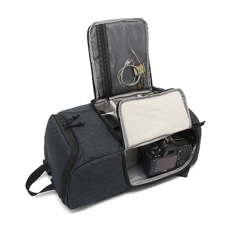 IPRee PU Waterproof Camera Bag Photography Backpack Travel Pouch Bags