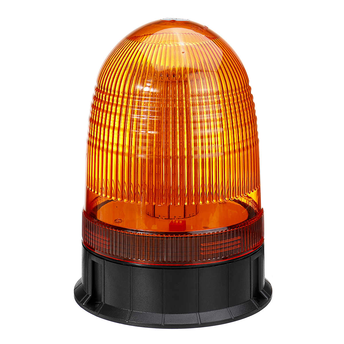 DC12-24V 80LED Magnetic Roof Rotating Flash Amber Beacon Strobe Tractor Warning Signal Light