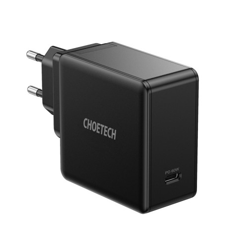 CHOETECH PD 60W Type C Quick Charge Wall Charger Power Adapter for Smartphone Tablet Laptop