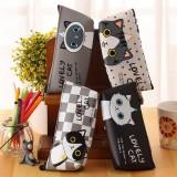 Cute Cartoon Cat Pencil Case Box Pens Storage Bag Pouch Stationary Makeup Bag