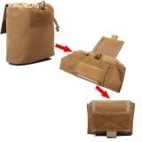 ZANLURE 1000D Nylon Waterproof Tactical Bag Multifunctional Folding Outdoor Hiking Travel Tool Bag Drawstring Storage Bag