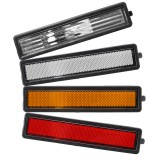 For BMW E30 E32 E34 318i 318is 325es 325i Rear Left Right Side Turn Signal Marker Lights Lamp Lens Cover