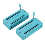 10pcs IC Lock Seat Zif Socket Test Universal zif Sockets 28Pin Wide