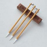 5 PCS Goat Hair Drawing Hook Line Brush Practice Writing Brush Oil Painting Brush