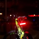 XANES TL39 High Brightness COB Bike Tail Light 9 Modes IPX6 Waterproof USB Rechargeable Cycling Bike Lamp