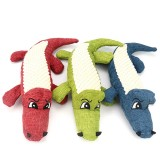 Durable Dog Chew Sound Squeaky Toy Bite Resistant Toys Plush Linen Pet Toys Puppy