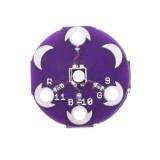 10pcs LilyPad Tri-Color LED RGB Module LilyPad LED Board Tri-color Module