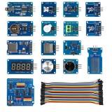 Sensor Starter Module Kits with IO Expansion Shield for UNO R3 Mega2560 R3 Leonardo