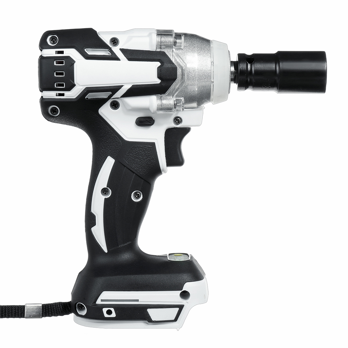 18V 520N.m. Li-Ion Cordless Brushless 1/2'' Electric Impact Wrench Driver Compitable for Makita 18V Battery