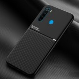 Bakeey Magnetic Non-slip Leather Texture TPU Shockproof Protective Case for Xiaomi Redmi Note 8
