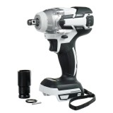 "18V 520N.m. Li-Ion Cordless Brushless 1/2"" Electric Impact Wrench Driver Compitable for Makita 18V Battery"