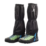 LUCKSTONE Waterproof Shoe Covers Foot Covers Leg Covers for Mountaineering Skiing Camping