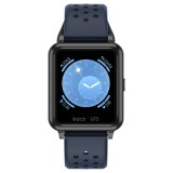 P8 1.3 inch IPS Color Screen Smart Watch, Support Heart Rate Monitoring / Blood Pressure Monitoring / Sleep Monitoring / Blood Oxygen Monitoring (Dark Blue)