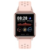 P8 1.3 inch IPS Color Screen Smart Watch, Support Heart Rate Monitoring / Blood Pressure Monitoring / Sleep Monitoring / Blood Oxygen Monitoring (Pink)