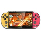 CoolBaby RS-06 Retro Game Classic Games Retro Handheld Game Console with 5.1 inch HD Screen, Support GBA (Red Yellow)