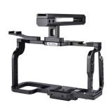 YELANGU C9-A YLG0911A Handle Video Camera Cage Stabilizer for DJI BMPCC 4K (Black)