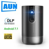 D9 200 ANSI Lumens 1080P 3D HD Portable Digital Projector, Built-in Speaker, Support TF Card / USB / HDMI