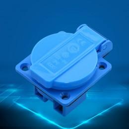 CF252 IP44 4 Pin Nylon Industrial Outdoor Waterproof  Plug 400V 16A