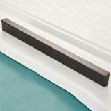 2 PCS 2778-224 Modern Simple Cabinet Door Handle Drawer Wardrobe Handle (Black)