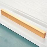 2 PCS 2778-224 Modern Simple Cabinet Door Handle Drawer Wardrobe Handle (Gold)