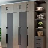 3 PCS 2049-224 Drawer Cabinet Door Aluminum Alloy Handle Straight Door Handle (Black)