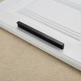 5 PCS 2057-128 Drawer Cabinet Door Handle Straight Door Handle (Black)