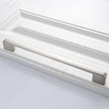 2 PCS 6613-224 Simple Cabinet Door Handle Drawer Wardrobe Zinc Alloy Handle (Brushed)