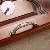 5 PCS 6201-96 Sub Red Zinc Alloy Cabinet Wardrobe Drawer Door Handle, Hole Spacing: 96mm