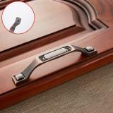 5 PCS 6201-128 Sub Red Zinc Alloy Cabinet Wardrobe Drawer Door Handle, Hole Spacing: 128mm
