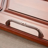 3 PCS 6046-128 Drawer Cabinet Door European Style Classical Bronze Handle (Red)