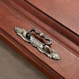10 PCS 6054-64 Cyan Ancient Drawer Cabinet Door Bronze European Style Handle