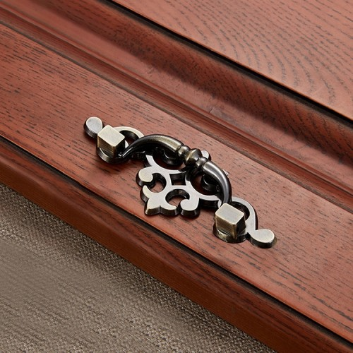 5 PCS 6057-64 Cyan Ancient Drawer Cabinet Door Bronze European Style Handle