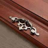 3 PCS 6057-96 Cyan Ancient Drawer Cabinet Door Bronze European Style Handle