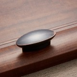 3 PCS 6611-32 Black Red Ancient ORB American Style Drawer Cabinet Door Handle