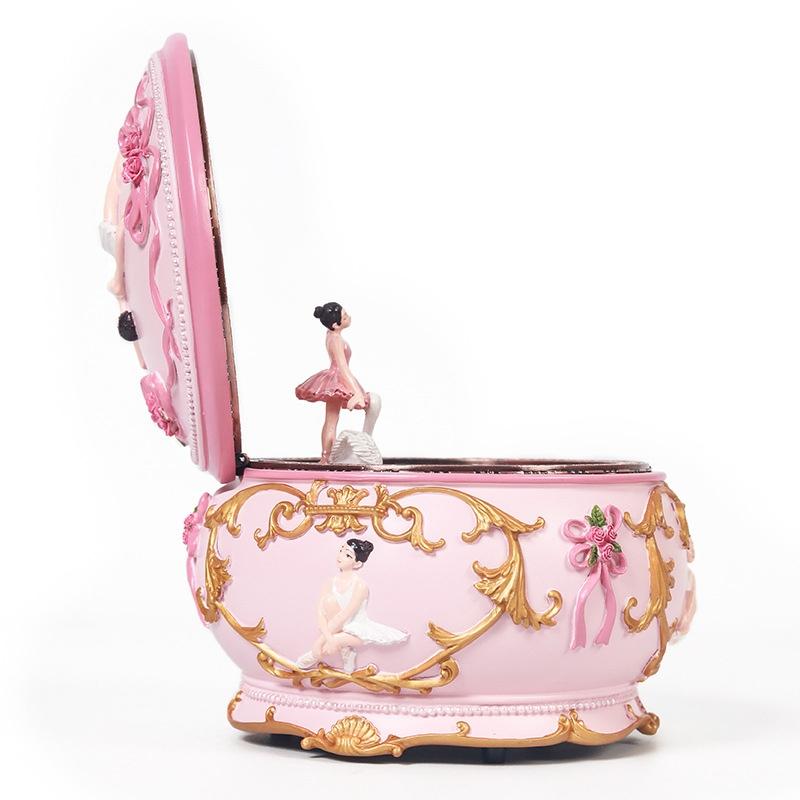 Ballet Girl Rotating Dancing Music Box Creative Birthday Gift, Music: Spirited Away