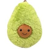 Long Plush Cartoon Avocado Shape Pillow Cushion Plush Toy, Height: 38cm