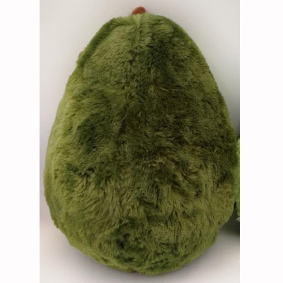 Long Plush Cartoon Avocado Shape Pillow Cushion Plush Toy, Height: 45cm