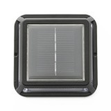 LED Corner Lamp Solar Powered Embedded Ground Lamp IP65 Waterproof Outdoor Garden Lawn Lamp